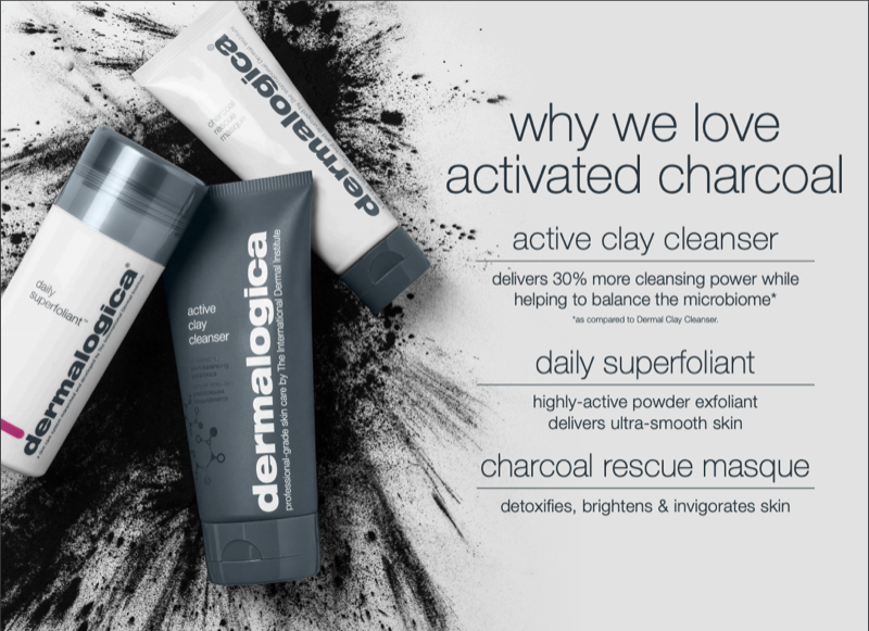 Why we love activated charcoal product promo