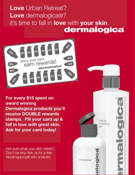 Dermalogica rewards