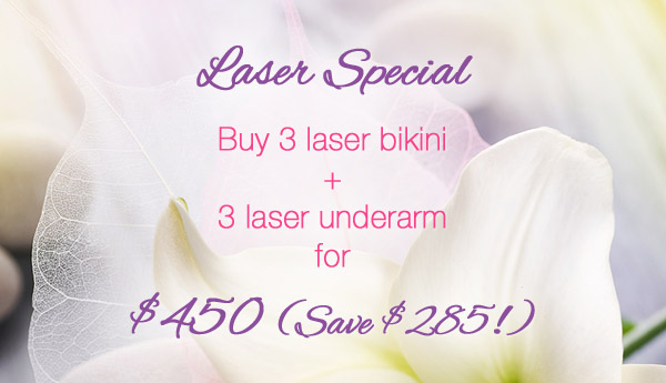 Laser Special at Urban Retreat