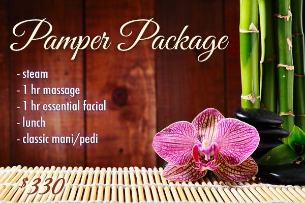 Pamper Package - spa package at Urban Retreat in Edmonton