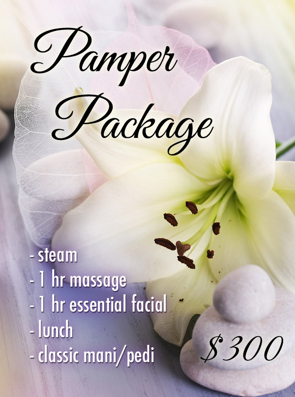 Pamper Spa Package