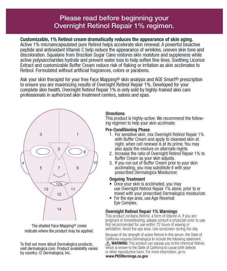 Retinol Repair Directions