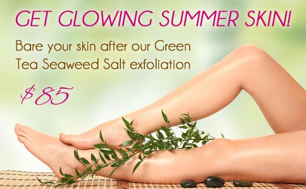 seaweed salt exfoliation