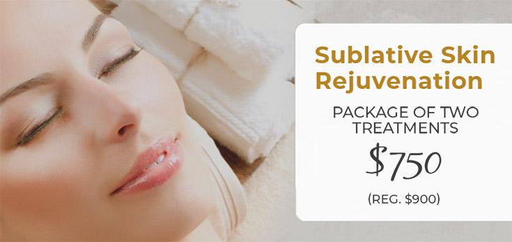 sublative skin rejuvenation special